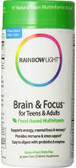Brain & Focus Multi Vitamin 90 ct Rainbow Light