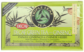 Decaf Green Tea with Ginseng 20 Bags Triple Leaf Tea
