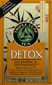 Detox Tea 20 Bags Triple Leaf Tea