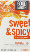 Original Caffeine Free #1 18 Bag, Good Earth Teas
