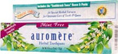 Toothpaste Mint-Free 4.16 oz, Auromere