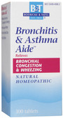 Bronchitis & Asthma Aide  100 Tabs, Boericke and Tafel
