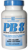 PB 8 Pro-Biotic Acidophilus 120 Caps Nutrition Now, Digestion
