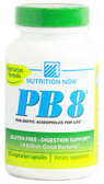 PB 8 Pro-Biotic Acidophilus 120 Caps Nutrition Now, Digestive System Health