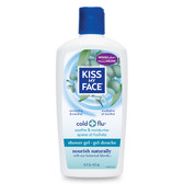 Kiss My Face Soothing Shower Gel Cold & Flu 16 oz