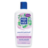 Shower Gel Peaceful Patchouli 16 oz, Kiss My Face