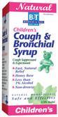 Children's Cough & Bronchial Syrup  4 oz, Boericke and Tafel