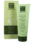 Clean For A Day Creamy Face Cleanser 4 oz, Kiss My Face
