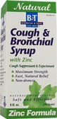 Cough & Bronchial Syrup Zinc 8 oz, Boericke and Tafel
