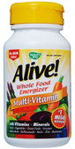 Alive no iron added, 30 Tabs, Nature's Way Vitamins