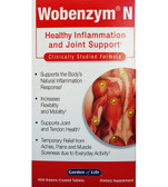 Wobenzym N 400 Tabs Garden of Life, Inflammation, Joint Support