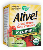 Alive! Organic Vitamin C Powder, 120 gm, Nature's Way