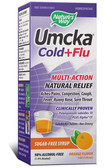Umcka Cold & Flu Orange Syrup 4 oz Nature's Way, Sinus, Bronchitis