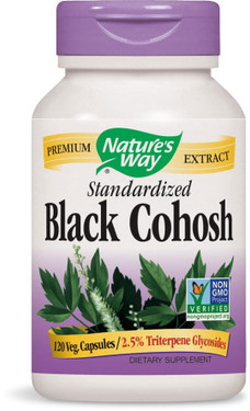 Black Cohosh Standardized Extract 120 vCaps Nature's Way, Perimenopause