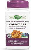Cordyceps Extract, 60 Caps, Nature's Way, Potency