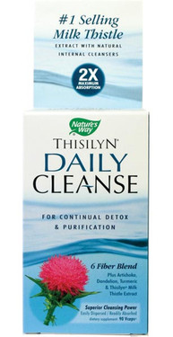 Thisilyn Daily Cleanse 90 Caps Natures Way, Liver Detox