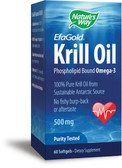 Nature's Way Krill Oil 500 mg 60 Softgels