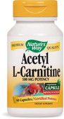 Acetyl L-Carnitine 60 vCaps Nature's Way, Brain Health