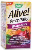 Alive Once Daily Women's Multi 60 Tabs, Nature's Way