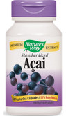 Acai Standardized 60 Caps Nature's Way, Antioxidant