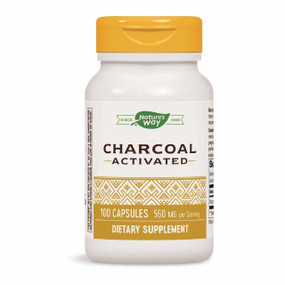 Buy Activated Charcoal 100 Caps, Nature's Way , UK Shop