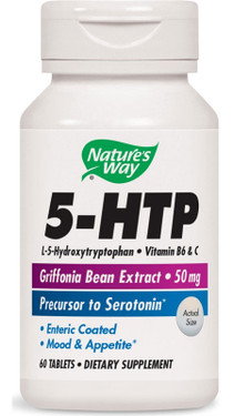 5-HTP, 60 Tabs Nature's Way, Stress, Mood