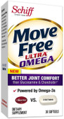 Move Free Ultra Omega 30 Softgels Schiff, Better Joint Comfort