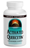 Activated Quercetin 200 Tabs, Source Naturals