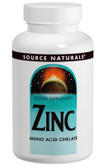 Zinc Chelate 50 mg 100 Tabs, Source Naturals