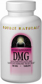 DMG 100 mg 60 Tabs, Source Naturals