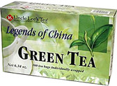 Legends of China Green Tea 100 ct Uncle Lee's Teas