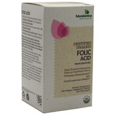 Folic Acid Certified Organic, 120 vegiTabs, Futurebiotics