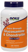 Glucosamine Chondroitin 750, 600 mg 120 Tabs, Now Foods