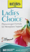 Ladies Choice Phytoestrogen For Menopause Support 60 Caps Natural Balance
