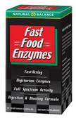 Fast Food Enzymes 90 Caps Natural Balance