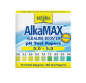 AlkaMax pH Test Papers 1 Roll (aprox 180 papers), Natural Balance