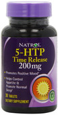 5-HTP 200 mg Time Release 30 Tabs, Natrol Positive Mood