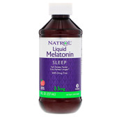Melatonin Liquid 8 oz, Natrol, Sleep Support