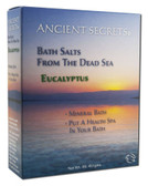 Eucalyptus Dead Sea Bath Salts 1 lb Ancient Secrets