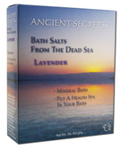 Lavender Dead Sea Bath Salts 1 lb Ancient Secrets