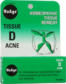 NuAge Tissue D Acne 125 Tabs, Hylands