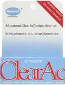 Clear-Ac 50 Tabs, Hylands for Acne