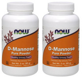 2-Pack Of D-Mannose Powder 3 oz (85 g), Now Foods, Healthy Urinary Tract