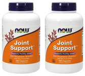 2-Pack Of Joint Support 180 Caps, Now Foods