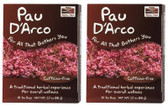 2-Pack Of Paud'Arco Tea Bags 24 Bags, Now Foods, Herbal Wellness Tea