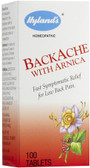 Backache w/Arnica 100 Tabs, Hylands