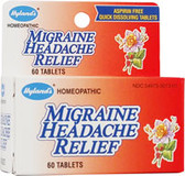 Migraine Headache 60 Tabs, Hyland's Natural Relief