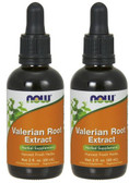 2-Pack Of Valerian Root Extract 2 oz (60 ml), Now Foods