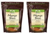 2-Pack Of Mango Slices 10 oz (284 g), Now Foods