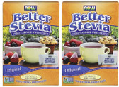 2-Pack Of BetterStevia Zero Calorie Sweetener 100 Packets, Now Foods
